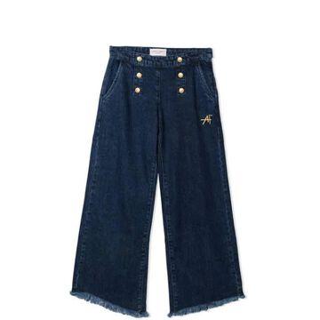 Alberta Ferretti Jeans With Buttons