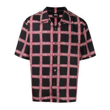 short sleeved check shirt