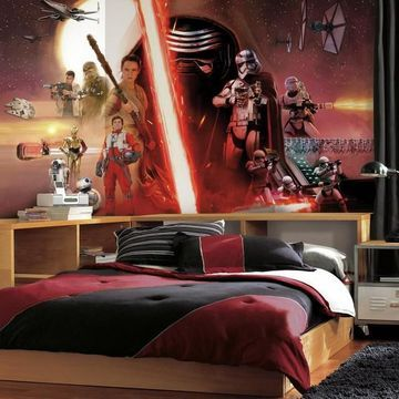 Star Wars: Episode VII The Force Awakens SureStrip Wallpaper Wall Mural