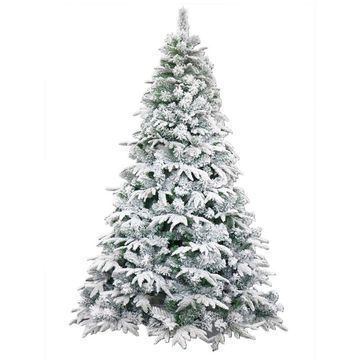 ALEKO Deluxe Artificial Christmas Holiday Tree Snow Dusted 6 foot