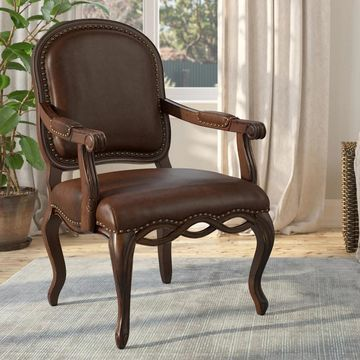 Beaufort Hand-carved Accent Chair by Greyson Living