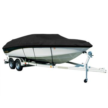 Covermate Sharkskin Plus Exact-Fit Cover for Lund 1700 Explorer Ss 1700 Explorer Ss O/B. Black
