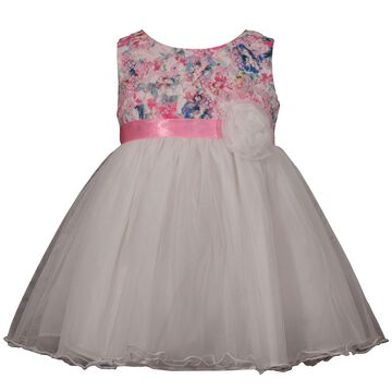Toddler Girl Girl Bonnie Jean Lace Tulle Dress