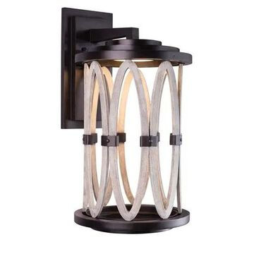 """Kalco Belmont Outdoor 25"""" Outdoor Wall Light in Florence Gold"""