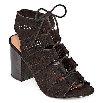 Bamboo Womens Taste 28 Heeled Sandals