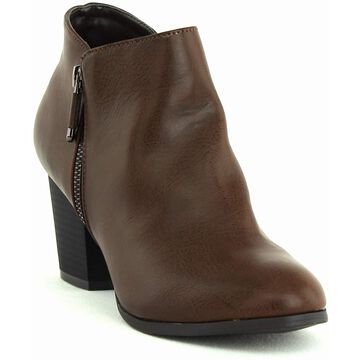 Style & Co.   Masrina Ankle Booties   Chocolate