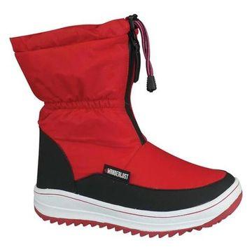 Wanderlust Women's Sasha Snow Boot Red Fabric