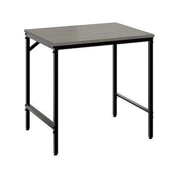 """Safco Simple 30.5"""" Study Desk, Sterling Ash (5273BLGR)"""