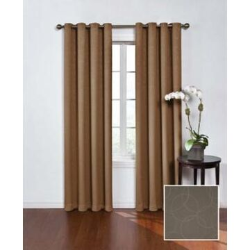 """Eclipse Round and Round Thermaweave Blackout 52"""" x 84"""" Curtain Panel"""