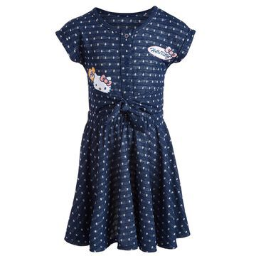 Toddler Girls Polka-Dot Patch Dress, Created for Macy's