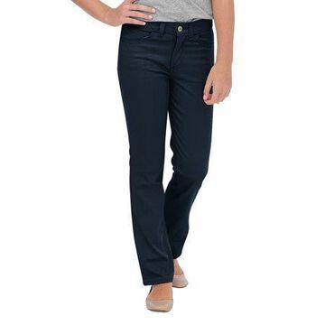 Genuine Dickies Girls School Uniform Skinny Fit Straight Leg 5-Pocket Stretch Twill Pants (Big Girls)