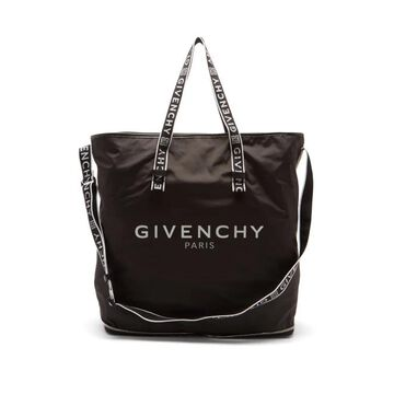 Givenchy - 4g Logo-print Packable Shell Tote Bag - Mens - Black White