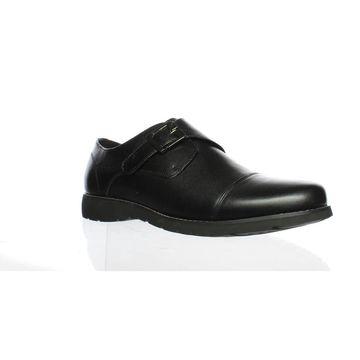 Propet Mens Graham Black Loafers Size 10
