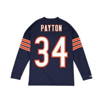 Mitchell & Ness Men's Walter Payton Chicago Bears Retro Player Name & Numer Longsleeve T-Shirt