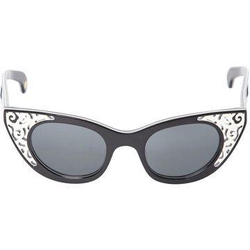 Polaroid \N Black Plastic Sunglasses