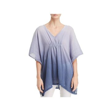 Three Dots Womens Caftan Ombre Cotton - O/S