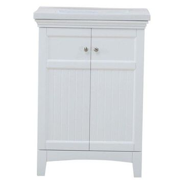 Legion Furniture Helen Vanity, White, 24
