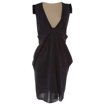 Vanessa Bruno Navy Polyester Dresses