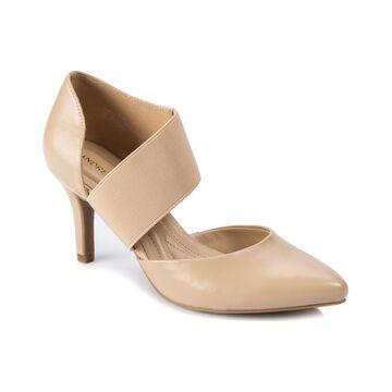 Andrew Geller Maresa Women's Heels Natural