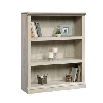 Sauder Select 3-Shelf Bookcase, Chalked Chestnut Finish