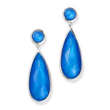 Ippolita Sterling Silver Wonderland Mother-of-Pearl Doublet Elongated Drop Earrings