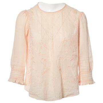 Vanessa Bruno Pink Cotton Tops