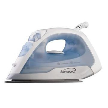 Brentwood MPI-5 Full Size Steam/Spray/Dry Iron, Silver