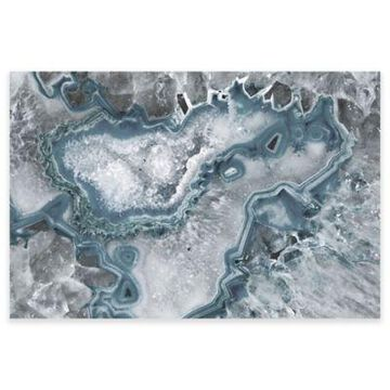 Marmont Hill Icy Layers 24-Inch x 16-Inch Canvas Wall Art