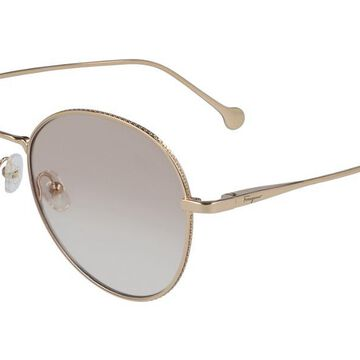 Salvatore Ferragamo SF 2189 688 Womenas Glasses Gold Size 55 - Free Lenses - HSA/FSA Insurance - Blue Light Block Available