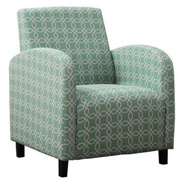 Monarch Fabric Accent Chair, Green