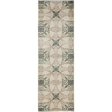 Solo Rugs One-of-a-kind Suzani Hand-knotted Runner Rug 2' 6