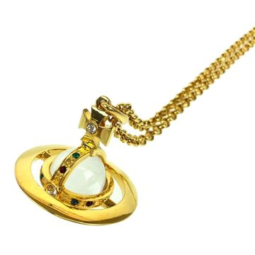 Vivienne Westwood Gold Metal Necklaces