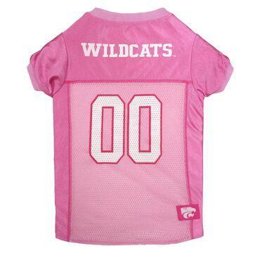 Pets First Kansas State Wildcats Pink Jersey, Medium