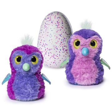 Hatchimals Glittering Garden - Hatching Egg and Interactive Sparkly Penguala ...