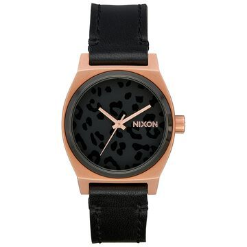 Women's Time Teller Leather Strap Watch 31mm