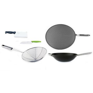 BergHOFF Geminis 5-pc. Wok Set