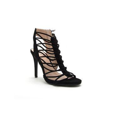 Qupid Womens Jealous-18 Heeled Sandals