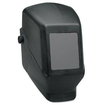 Jackson Safety WH10 Passive Welding Helmet, HSL 100, #10, Black/Green