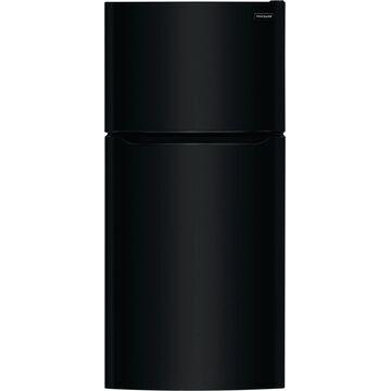 Frigidaire 18.3-cu ft Top-Freezer Refrigerator (Black) ENERGY STAR   FFHT1835VB