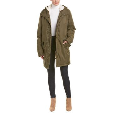 Loro Piana Womens Hooded Cashmere-Lined Parka