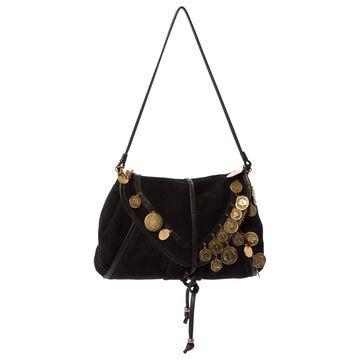 Sonia Rykiel Black Suede Handbags