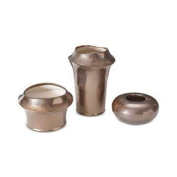 Madison Park Bowery 3-Pc. Ceramic Vase Set