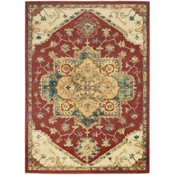 Nourison Traditional Antique TRQ01 Red 3'11
