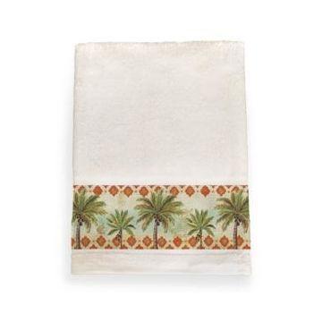Laural Home Spice Palm Bath Towel Bedding