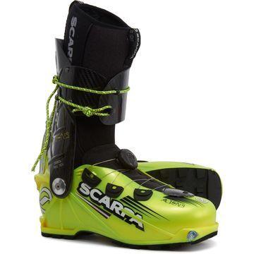 Scarpa Made In Italy Alien 1.0 Alpine Touring Ski Boots - BOA Closure (For Men)