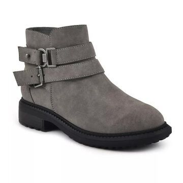 Sonoma Goods For Life Wolfhound Women's Ankle Boots, Size: 8.5, Med Grey