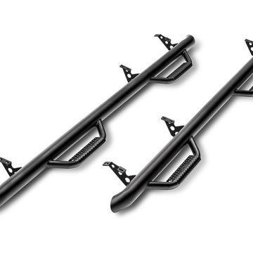 N-Fab N16100CC-TX Wheel To Wheel Nerf Step Bar Fits 16-19 Titan XD