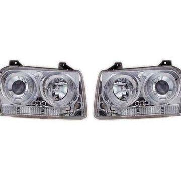 2005 Chrysler 300 IPCW Headlights in Chrome