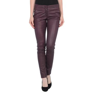 L'AGENCE Leather pants