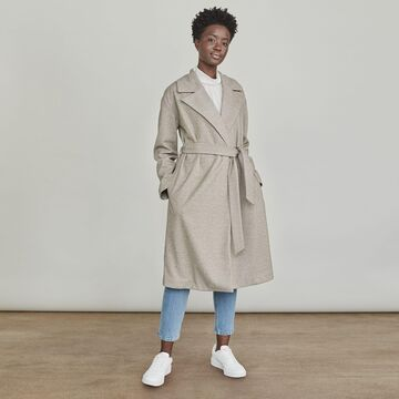 Women's Elizabeth and James Belted Coat